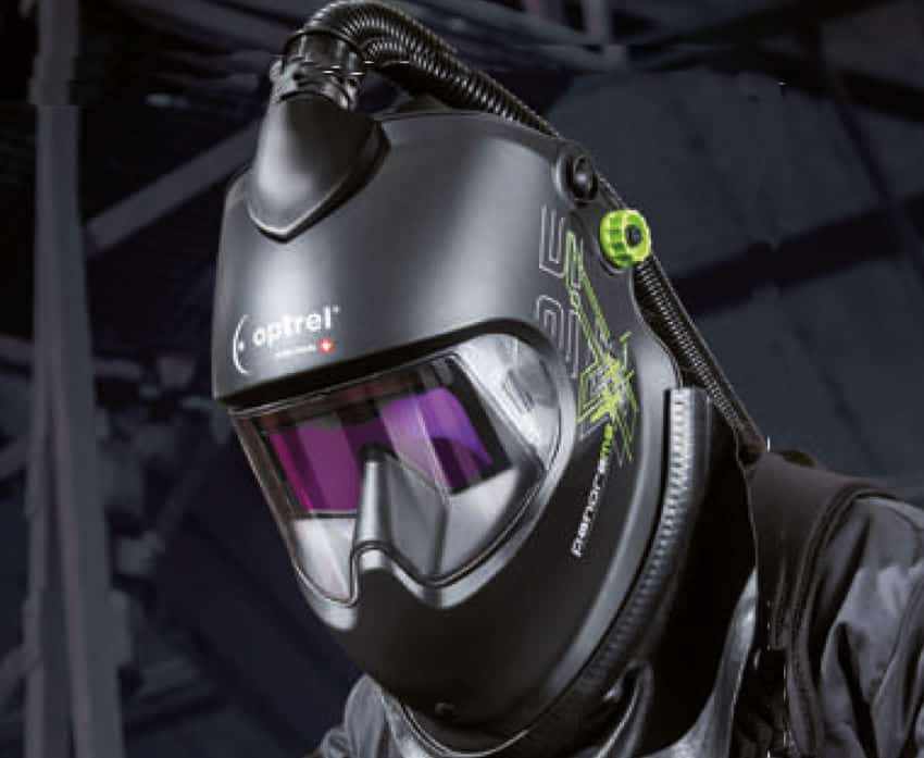 Optrel Panoramaxx welding helmet featured