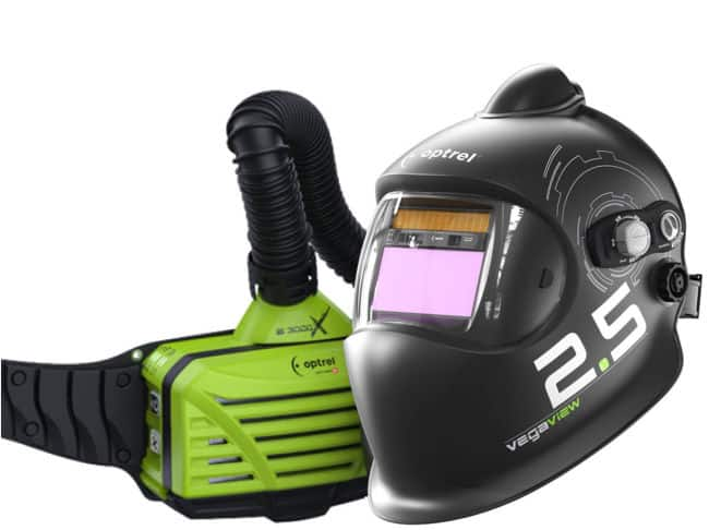 Optrel VegaView 2.5 Welding Helmet with PAPR